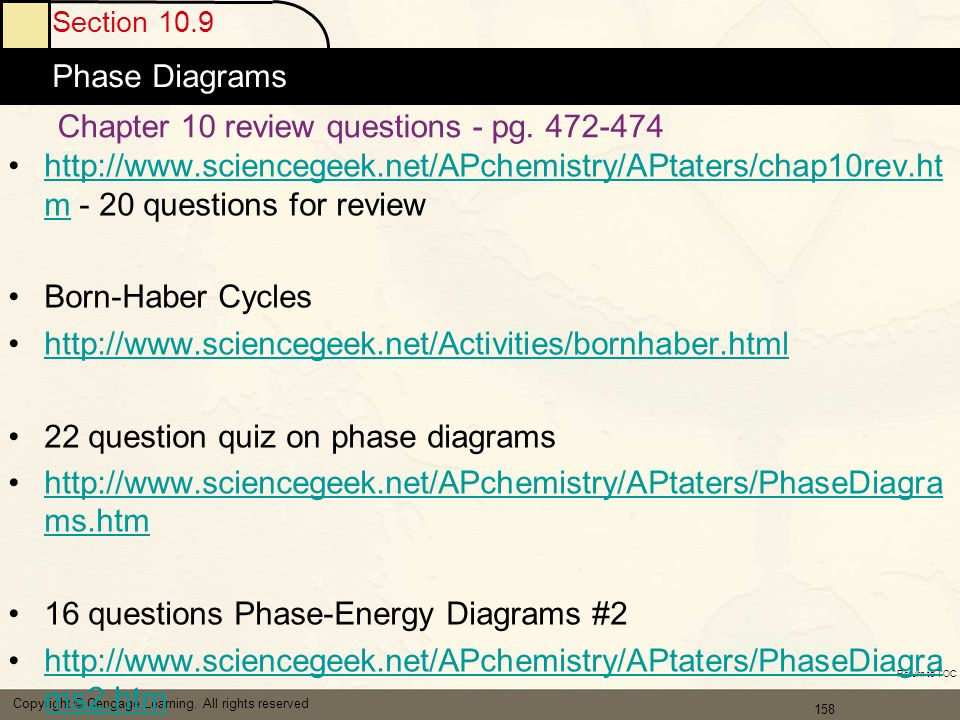 Chapter 10 review questions - pg. 472-474