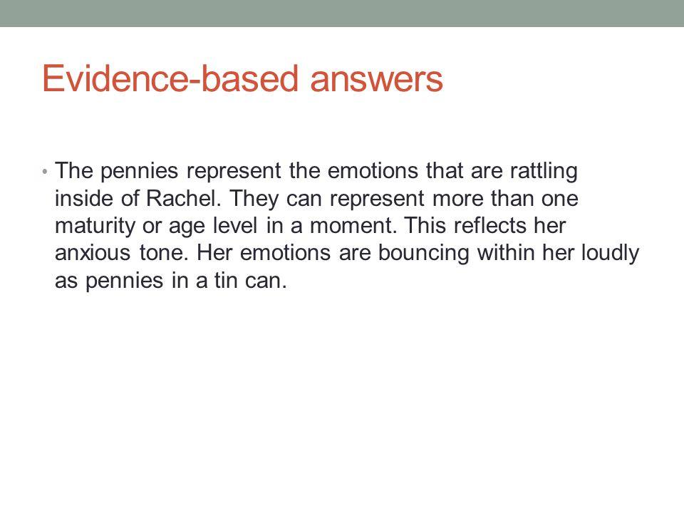 Evidence-based answers