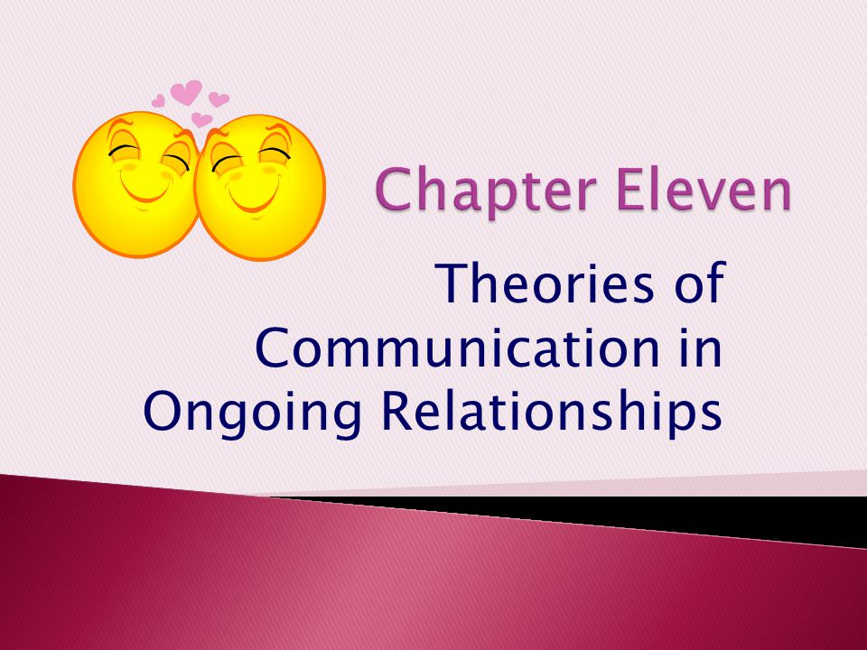 Theories of Communication in Ongoing Relationships
