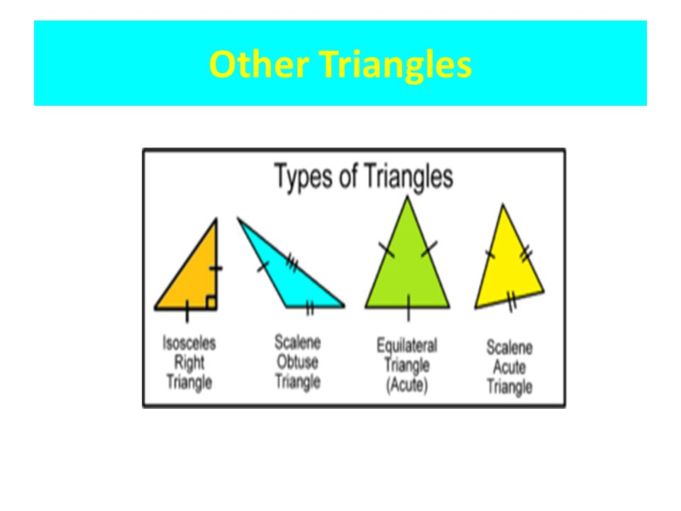 Other Triangles