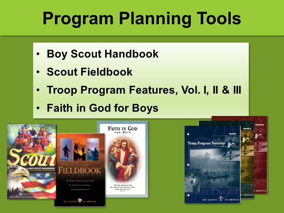 Program Planning Tools