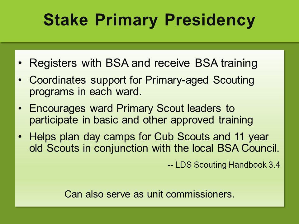 Stake Primary Presidency