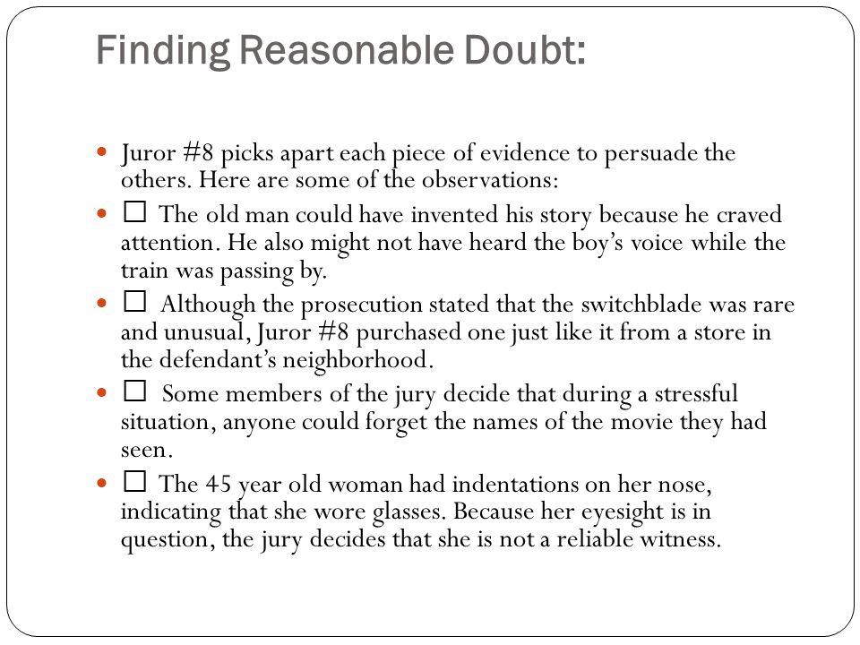 Finding Reasonable Doubt: