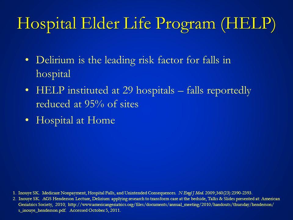 Hospital Elder Life Program (HELP)