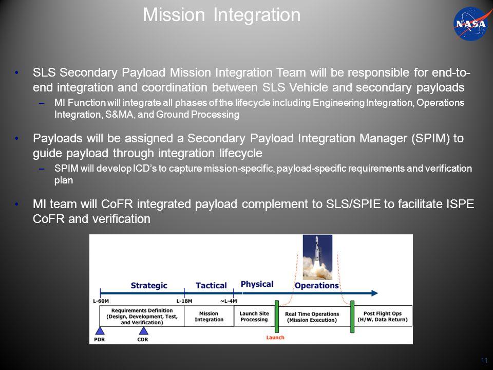 Mission Integration