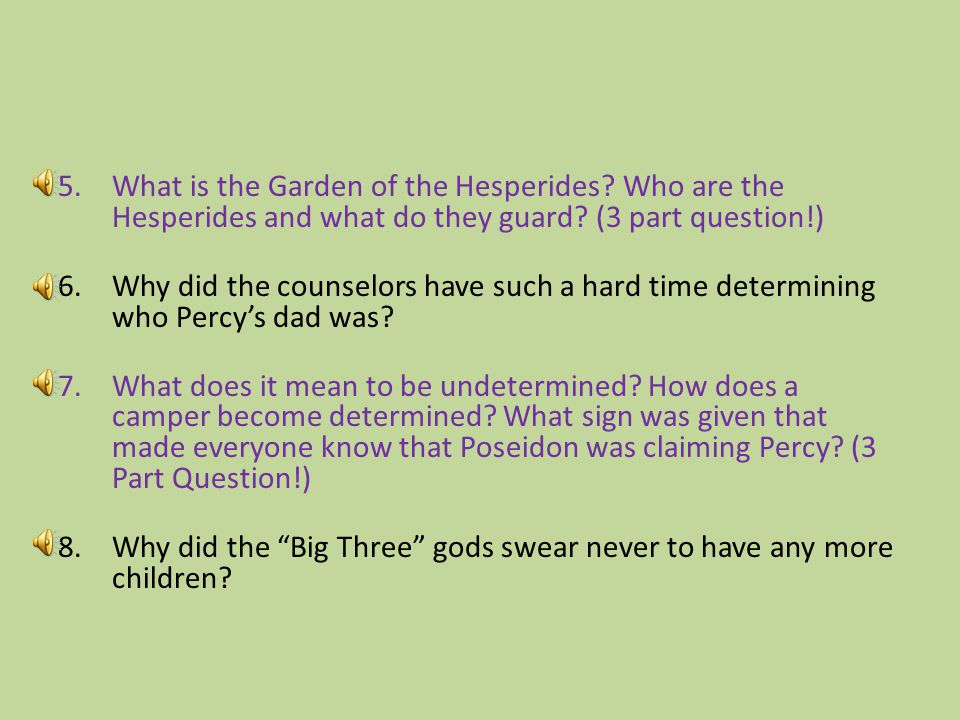 What is the Garden of the Hesperides