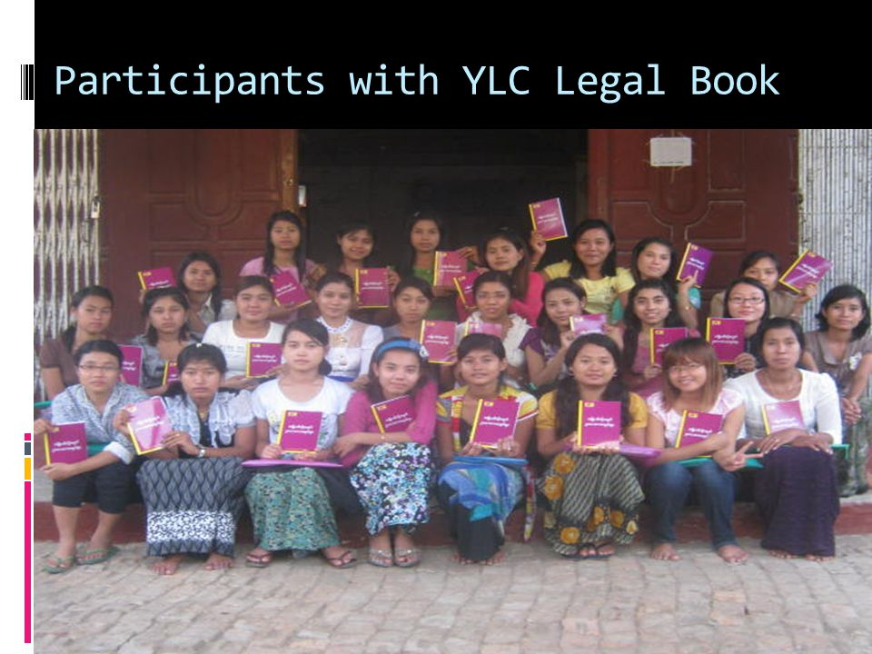 Participants with YLC Legal Book