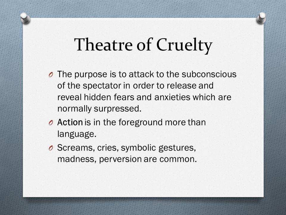 Theatre of Cruelty