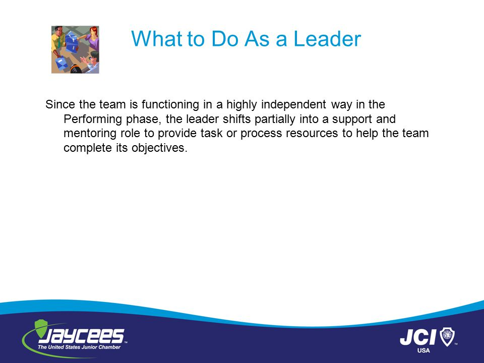 What to Do As a Leader
