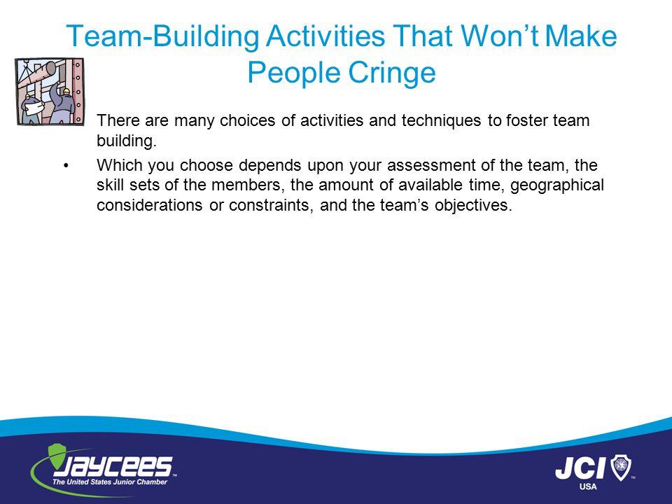 Team-Building Activities That Won't Make People Cringe
