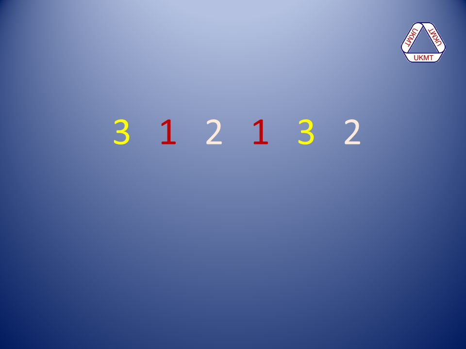 3 1 2 1 3 2