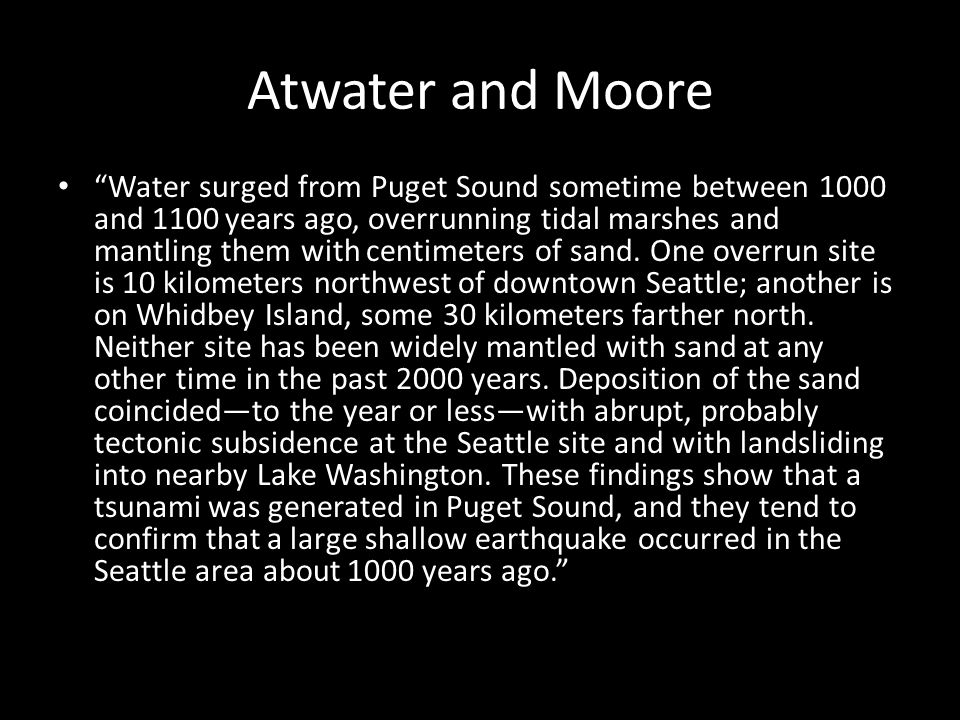 Atwater and Moore