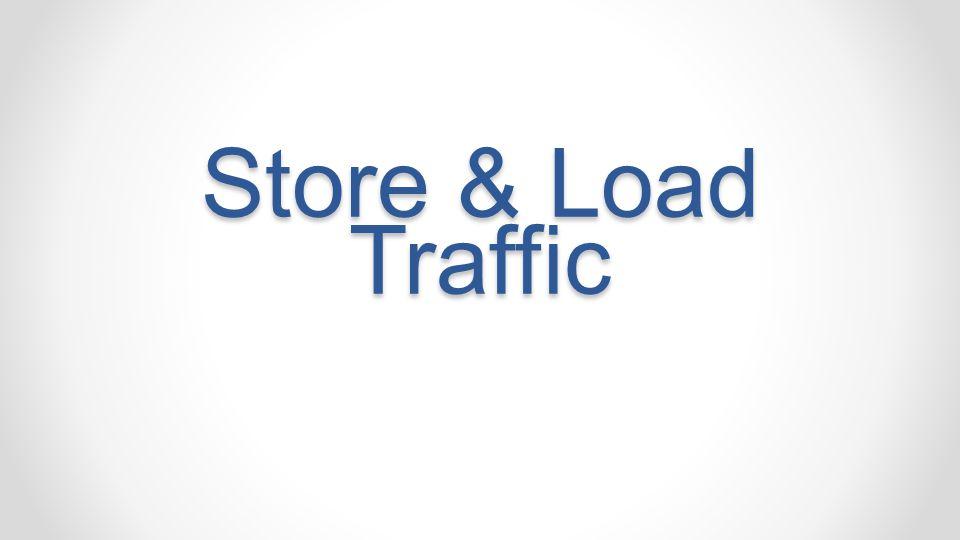 Store & Load Traffic