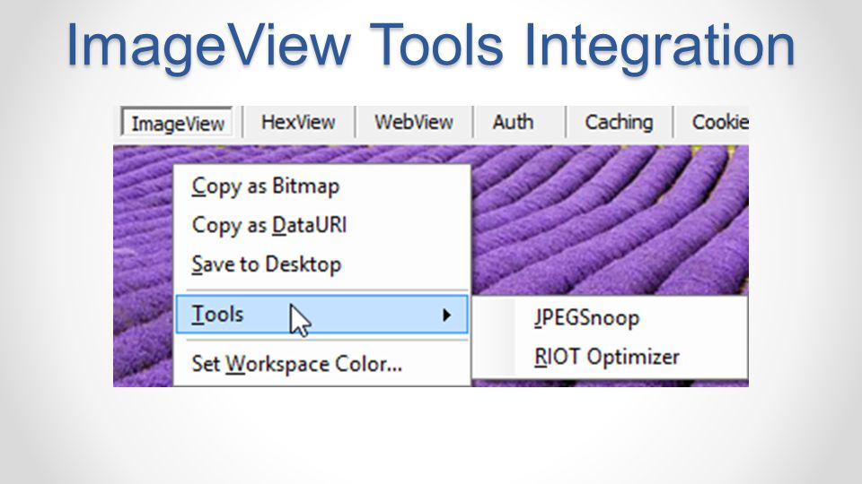 ImageView Tools Integration