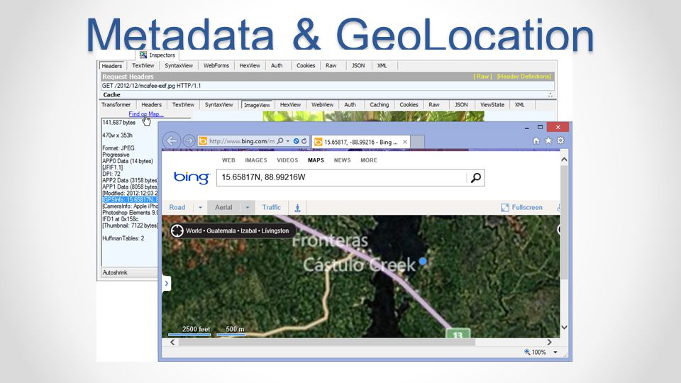 Metadata & GeoLocation