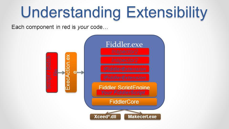 Understanding Extensibility