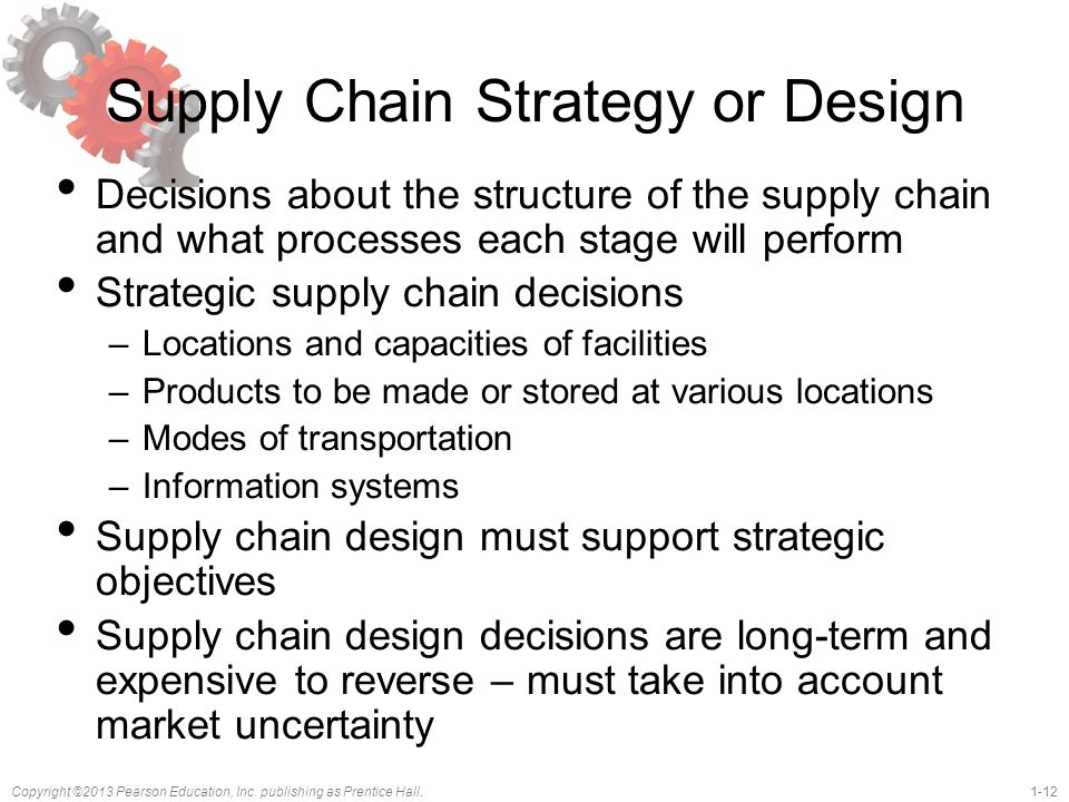 Supply Chain Strategy or Design