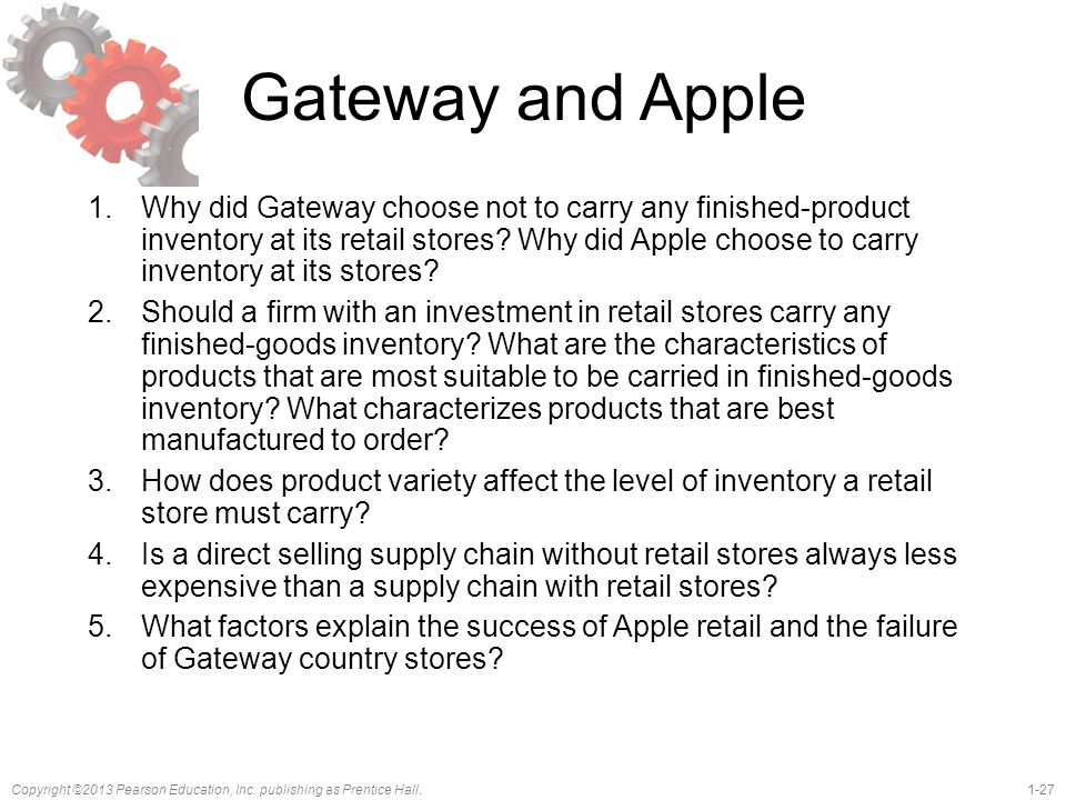 Gateway and Apple