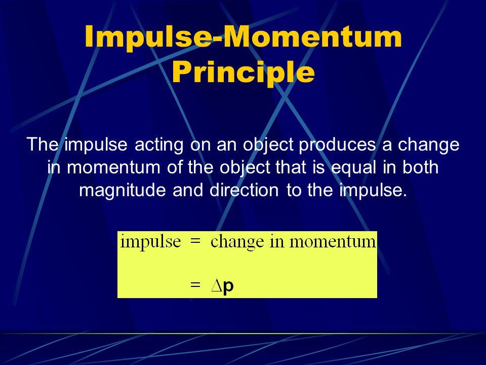 Impulse-Momentum Principle