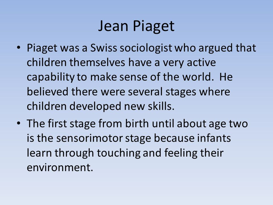 piaget and mead Dewey's dynamic integration of vygotsky and piaget susan j mayer abstract  thought and mead became interested in the social theory of one of marx's con .