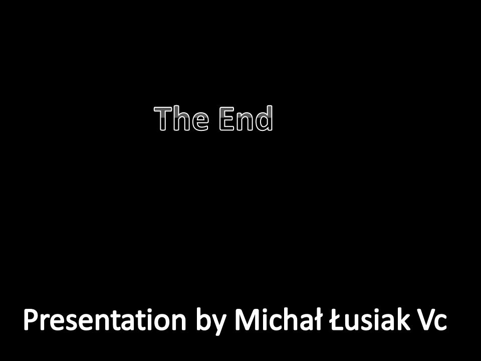 Presentation by Michał Łusiak Vc