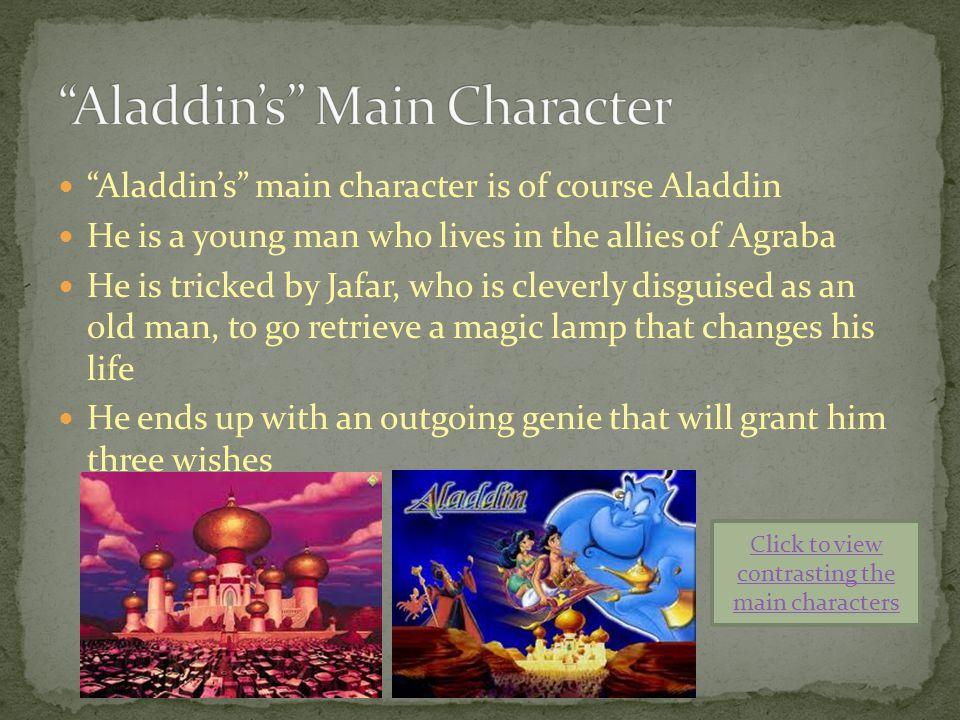 Aladdin's Main Character