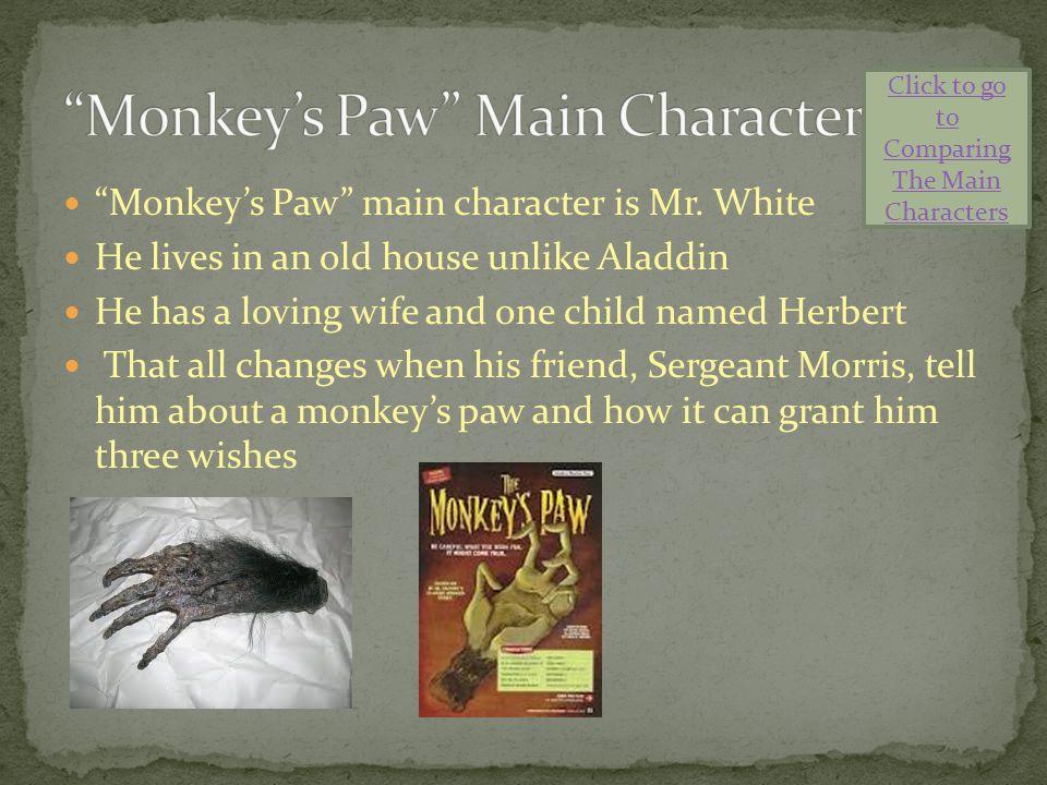 Monkey's Paw Main Character