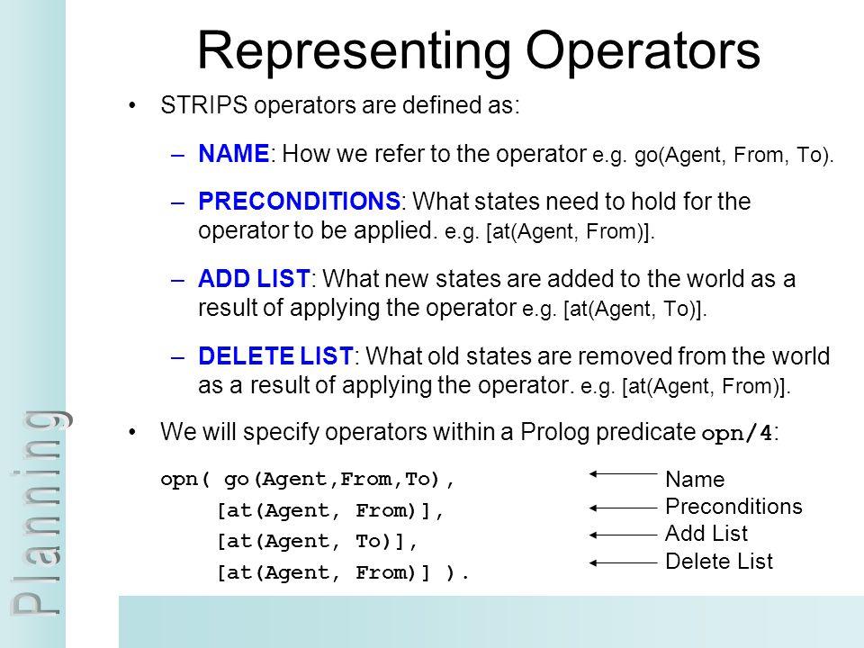 Representing Operators