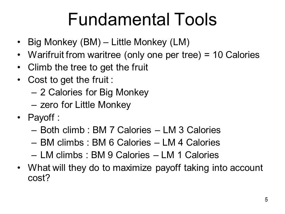 Fundamental Tools Big Monkey (BM) – Little Monkey (LM)