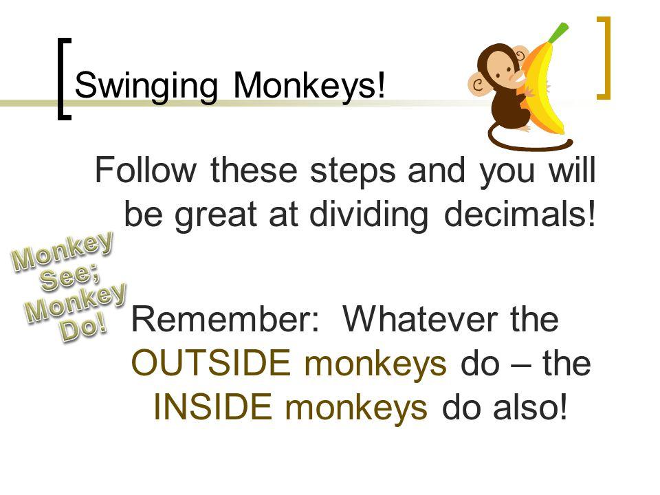 Swinging Monkeys!