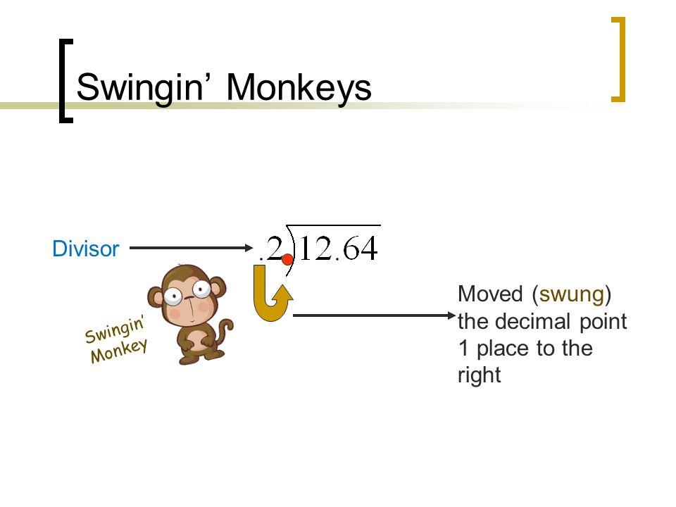 Swingin' Monkeys Divisor