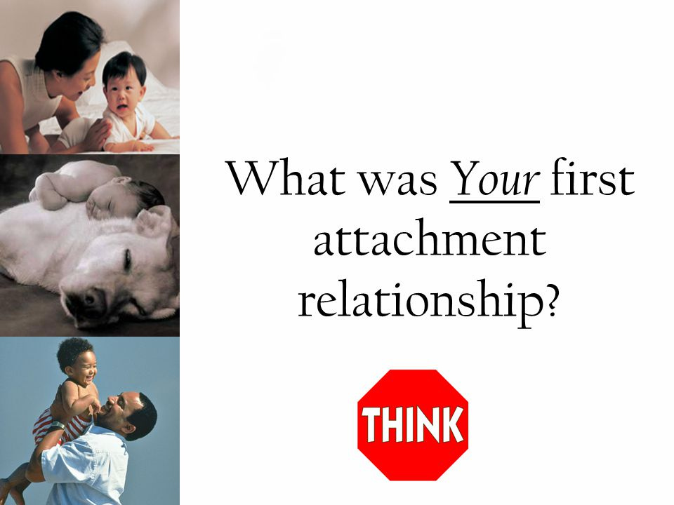 What was Your first attachment relationship