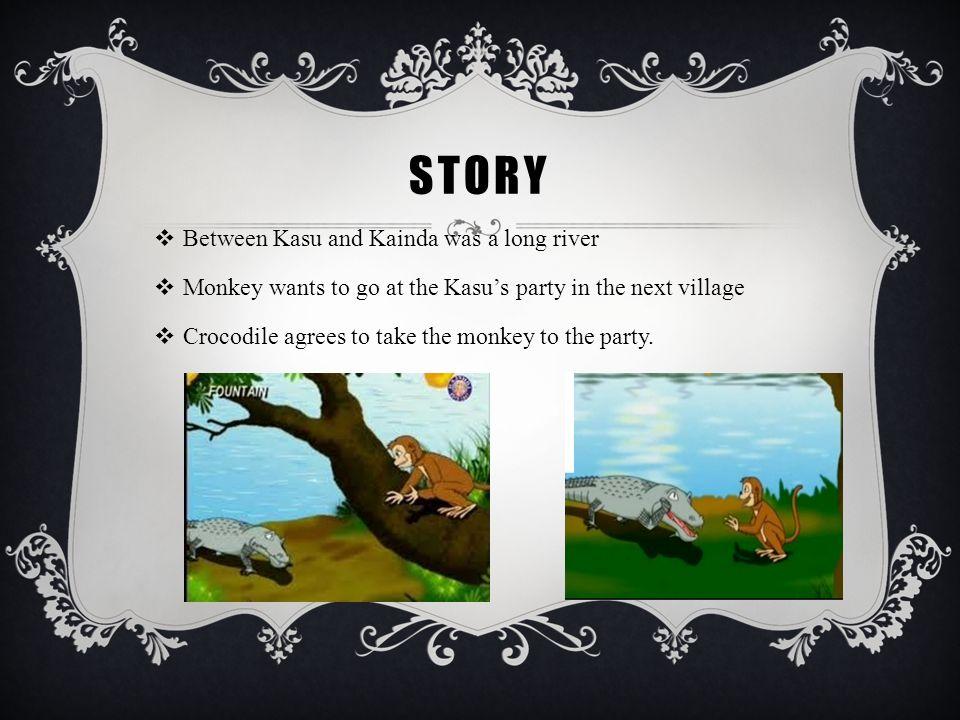 story Between Kasu and Kainda was a long river