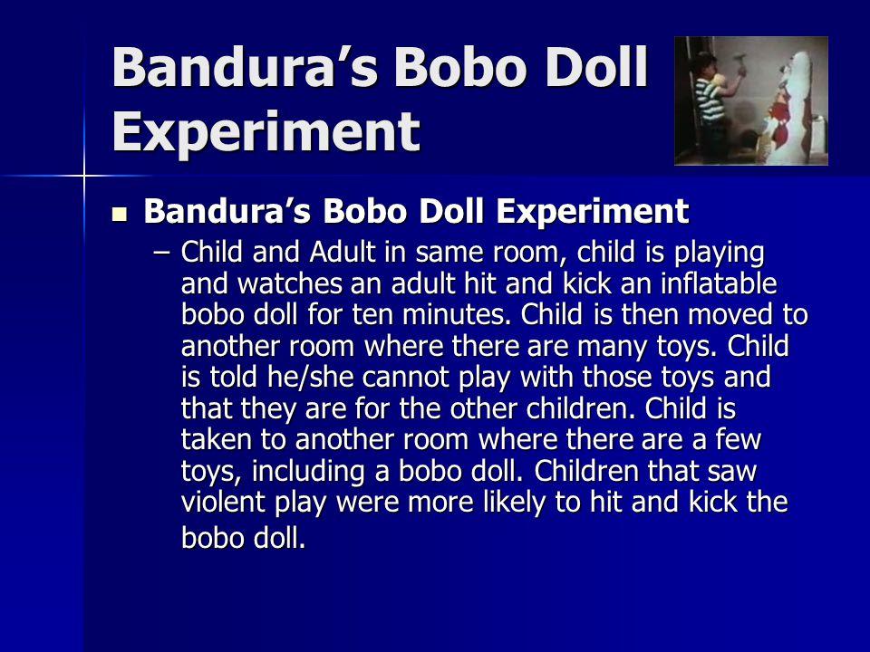 Bandura's Bobo Doll Experiment
