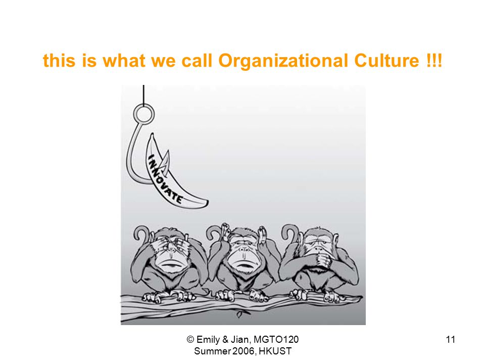 this is what we call Organizational Culture !!!