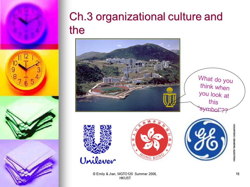 Ch.3 organizational culture and the