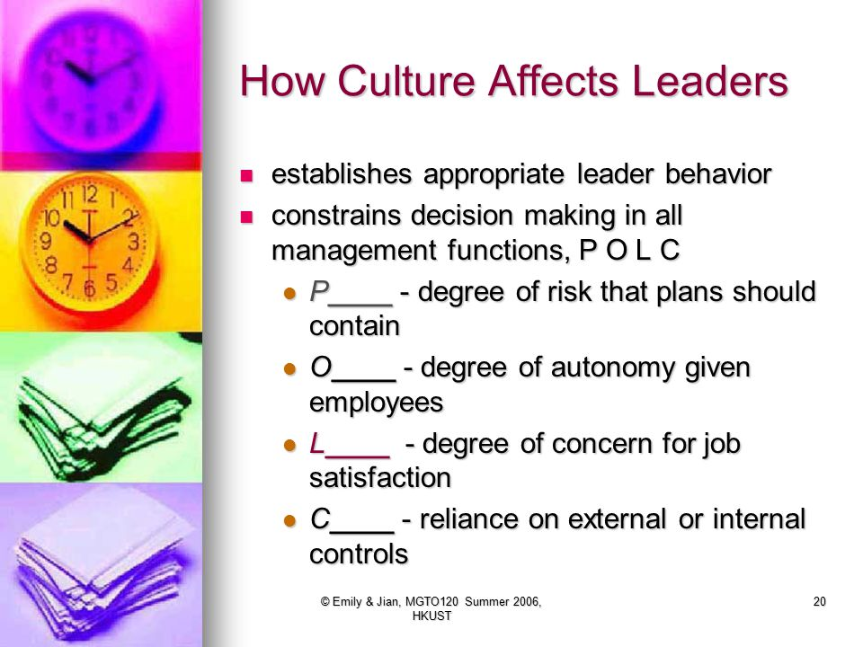 How Culture Affects Leaders