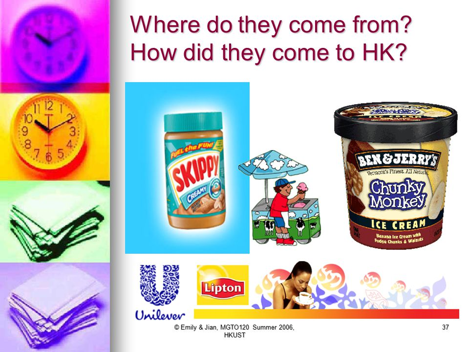 Where do they come from How did they come to HK