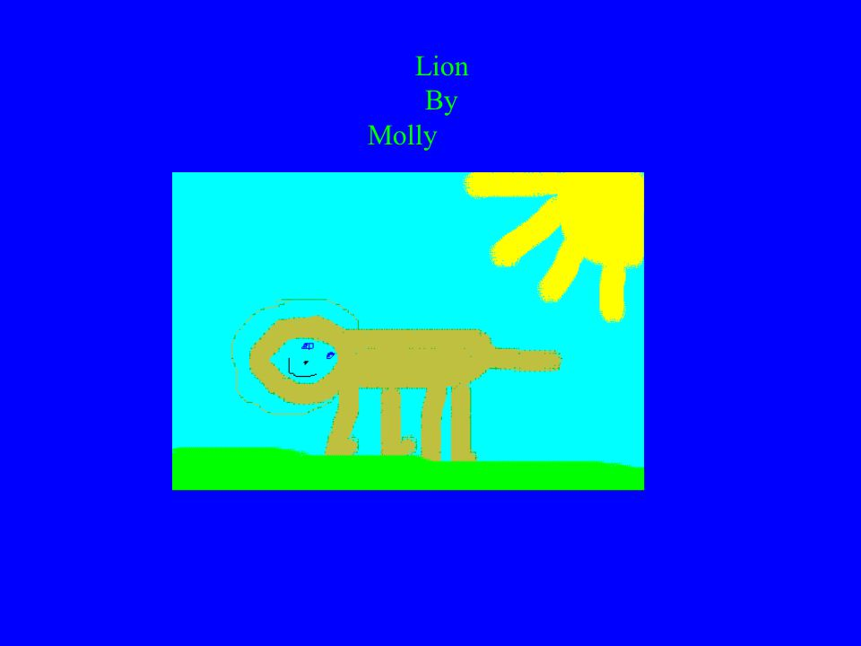Lion By Molly