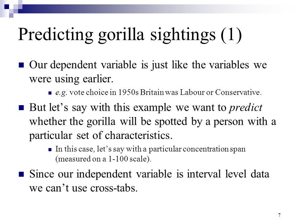Predicting gorilla sightings (1)
