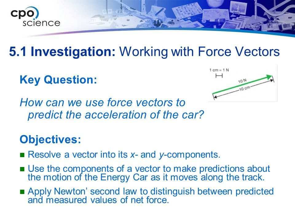 5.1 Investigation: Working with Force Vectors