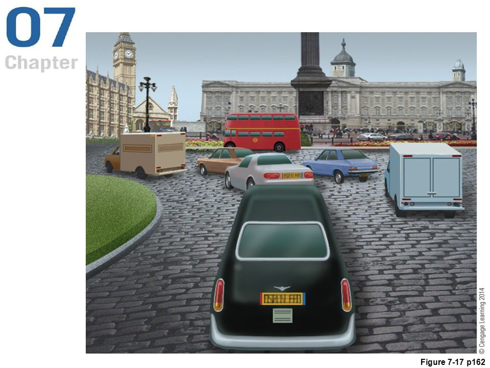 Figure 7.17 A view similar to the one in the video game The Getaway (© Sony Computer Entertainment Europe), which duplicates the roadways and buildings of downtown London.