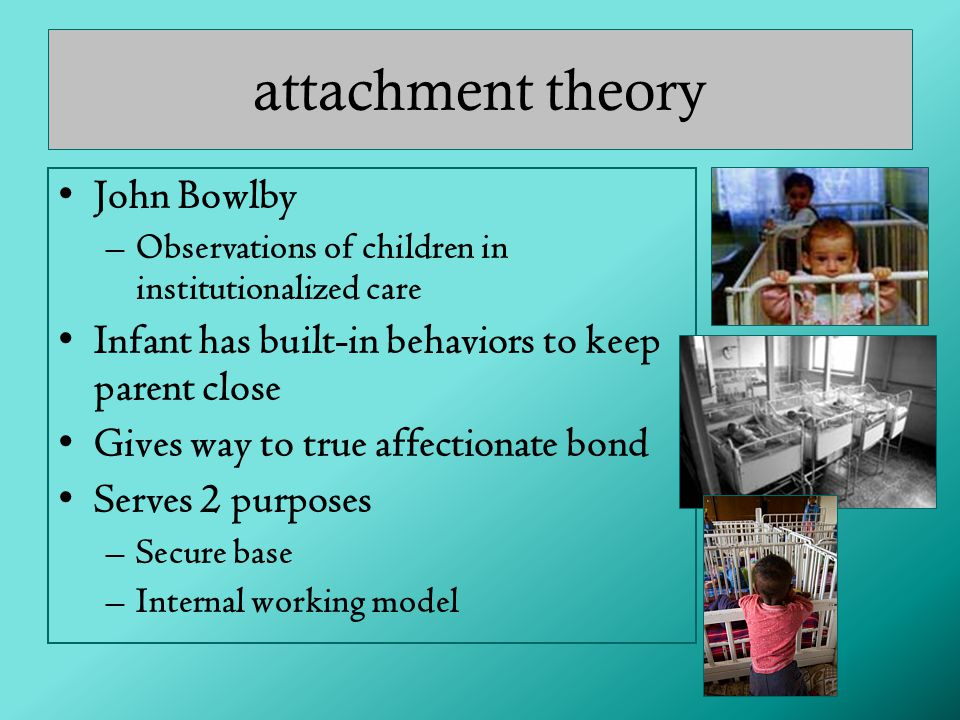 attachment theory John Bowlby