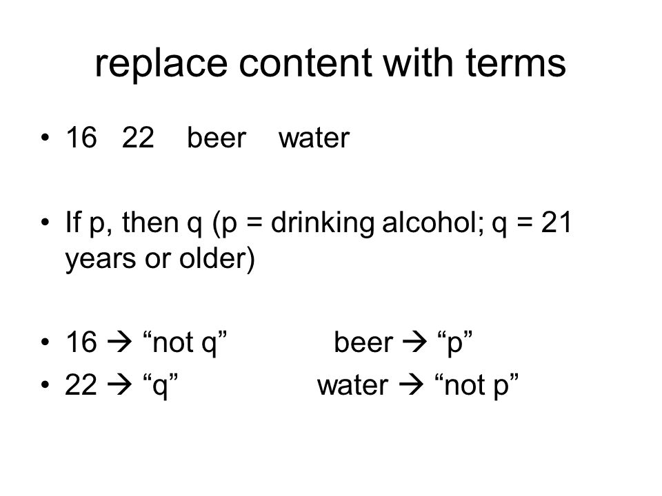 replace content with terms
