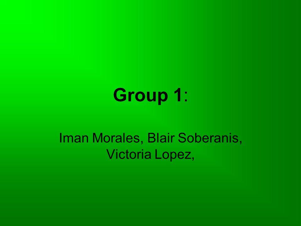 Iman Morales, Blair Soberanis, Victoria Lopez,