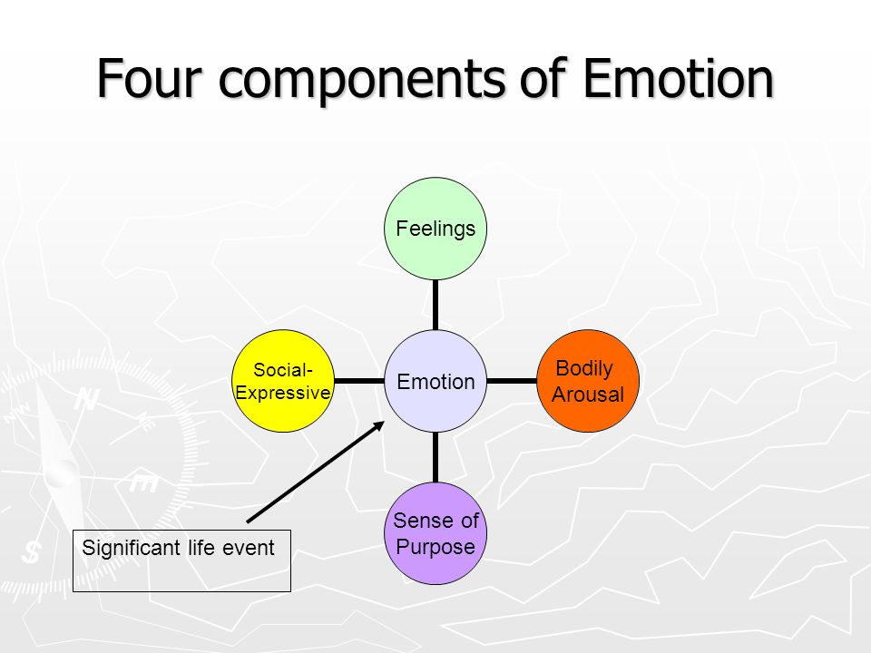 Four components of Emotion