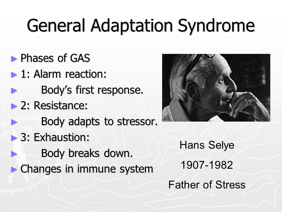 What Are the Three Stages of General Adaptation Syndrome?