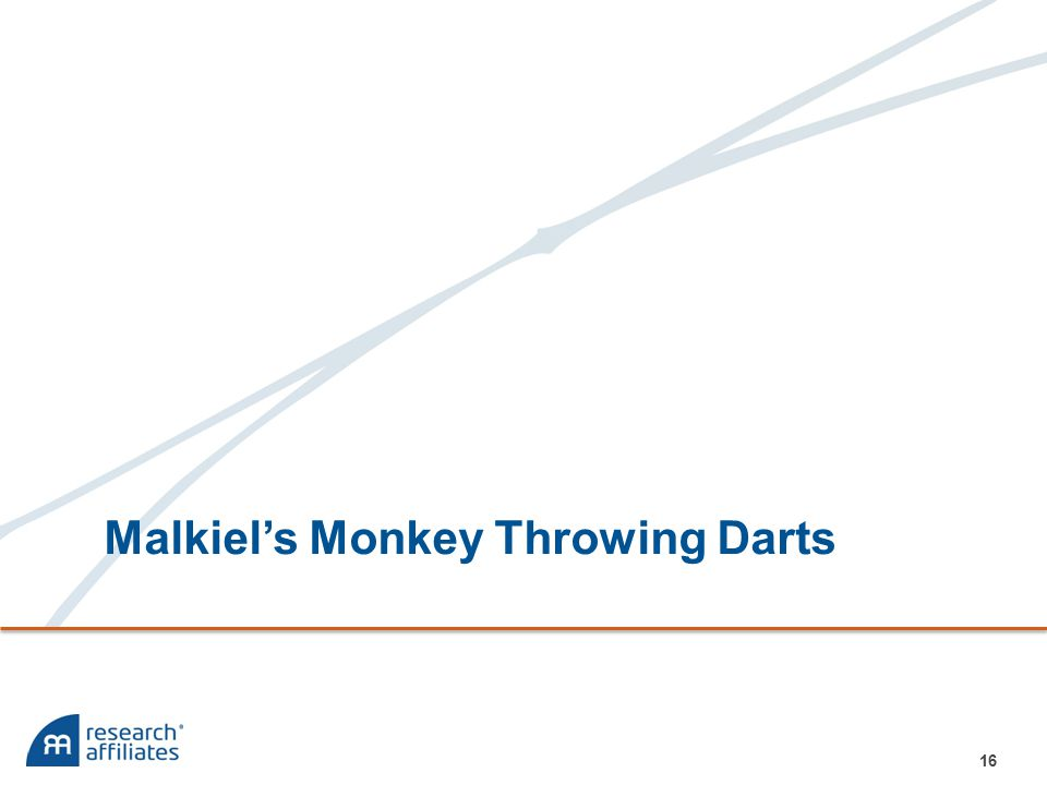 Malkiel's Monkey Throwing Darts