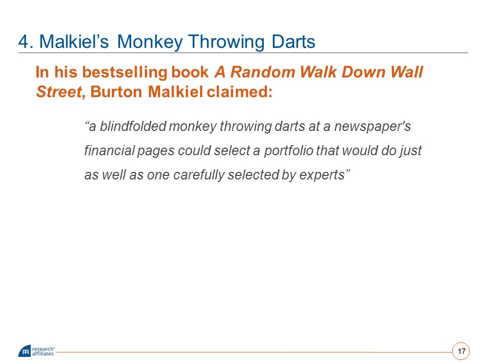 4. Malkiel's Monkey Throwing Darts
