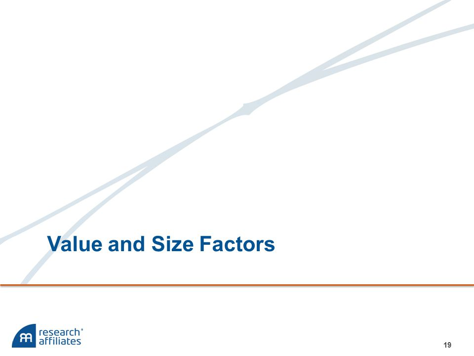 Value and Size Factors